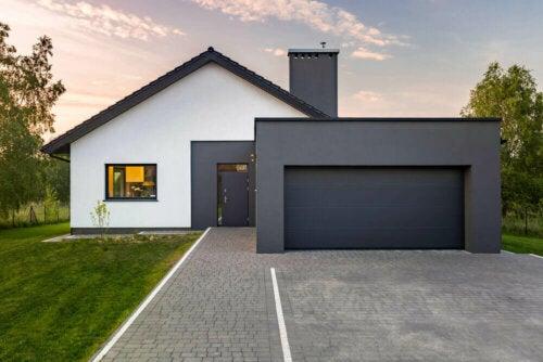 grå er en af de mest trendy farver til dit hjems ydre
