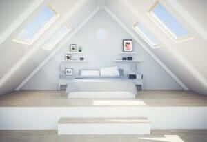 loftsvinduer til at øge mængden af naturligt lys