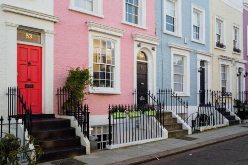 pastelfarver til dit hjems ydre