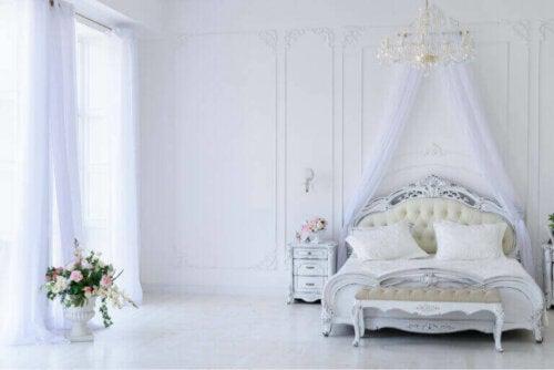 En guide til at skabe et romantisk soveværelse