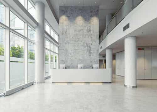5 typer af søjler til indretning af interiør