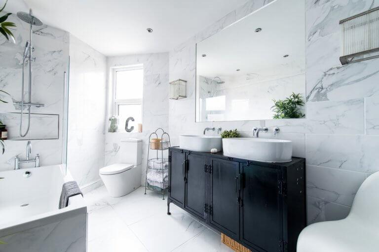 Putztipps, um das Bad sauber zu halten