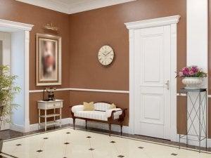 Eingangsbereich im französischen Landhausstil