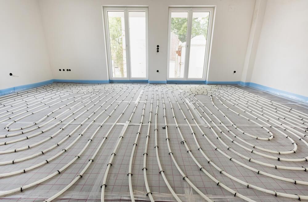 Vorteile und Nachteile einer Fußbodenheizung