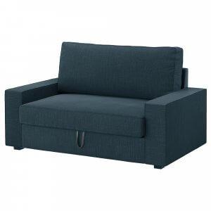 Ein-Sitzer-Sofa mit dunklem VILASUND Bezug