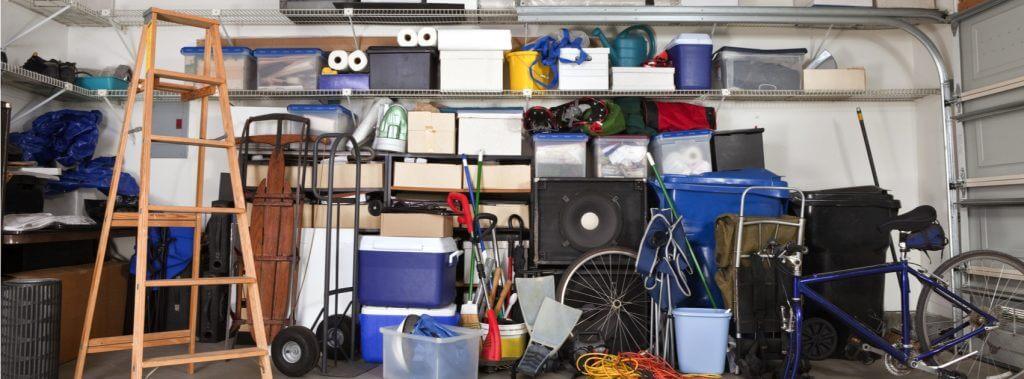 Die Garage dekorieren: Ideen, die die Arbeit erleichtern