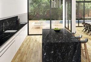 Arbeitsplatte aus Granit