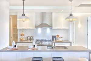 Lampen in der Küche