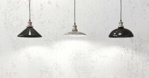 wenig Licht - Hängelampen