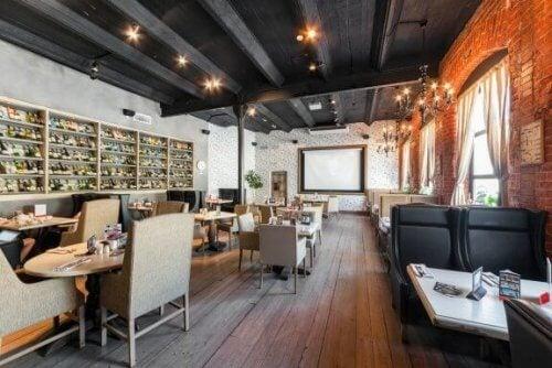 Dekor für eine Bar zu Hause oder im gewerblichen Bereich