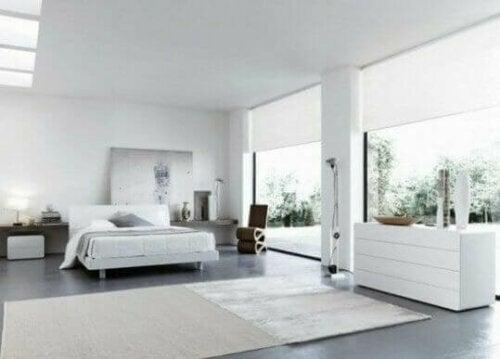 Der italienische Stil setzt auf große Fenster