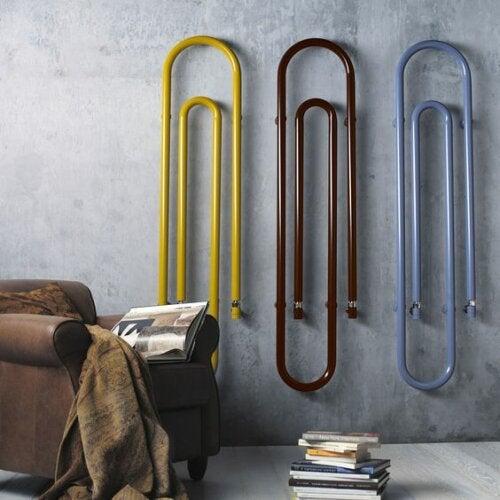 Du kannst deinem Haus mehr Stil verleihen, indem du hier und da farbige Akzente setzt.