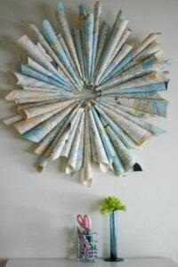 Landkarten-Origami