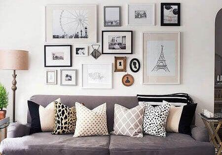 Bilderrahmen bieten eine Vielzahl an dekorativen Optionen.