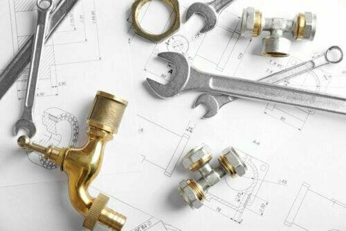 Bei Renovierungsarbeiten an Sanitäranlagen geht die Sicherheit vor