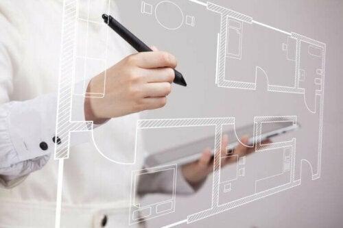 Die richtige Planung vor Beginn des Heimprojekts ist wichtig, um mehr Platz zu gewinnen.