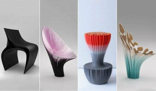 3D-gedruckte Möbel: Nagami