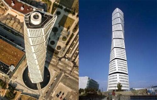 Campos hat erklärt, dass er sich in Calatravas Gebäude verliebt hat, das an einen menschlichen Torso erinnert. Das Gebäude, Turning Torso, ist ein 190 Meter hoher Wolkenkratzer in Schweden.