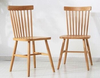 Windsor-Stühle sind immerwährend stilvolle Möbelstücke.