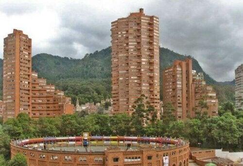 Rogelio Salmona - Backstein ist in Kolumbien weit verbreitet