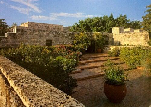Das Haus der illustren Gäste in Cartagena
