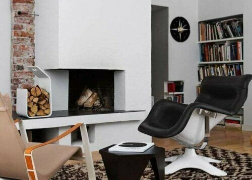 Der Karuselli-Stuhl passt perfekt in moderne Räume