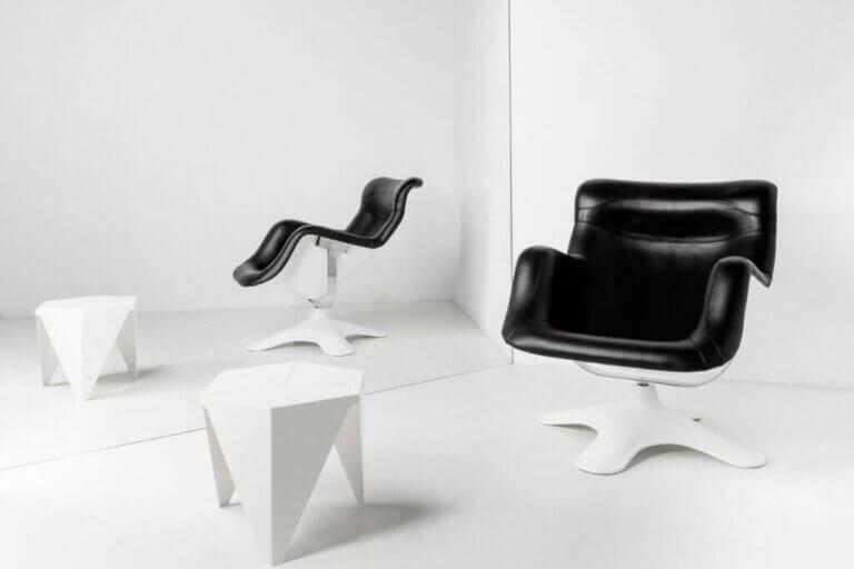 Der Karuselli-Stuhl - Komfort und formale Raffinesse