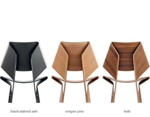 Der GJ Chair - Rückansicht