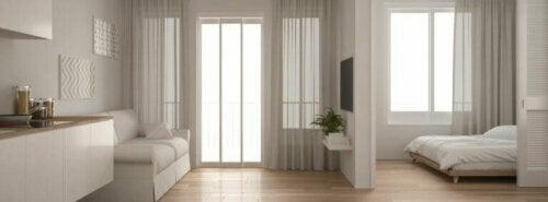 Kleines Apartment mit offenem Wohnraum
