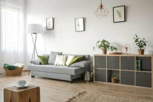 Die Vermietung einer freistehenden Immobilie – kleines Wohnzimmer