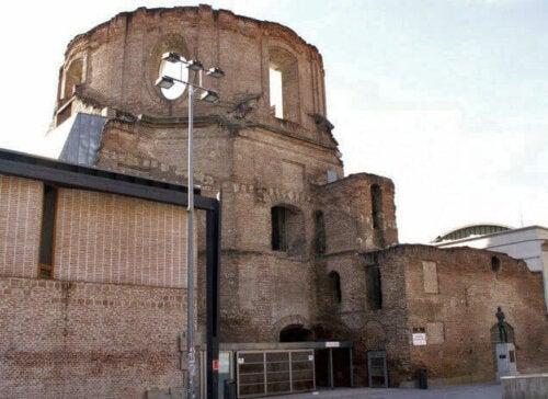 Ruine als Teil des heutigen Kulturzentrums