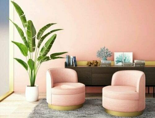 Rosa ist eine sanfte Farbe, die Romantik und Eleganz vermittelt