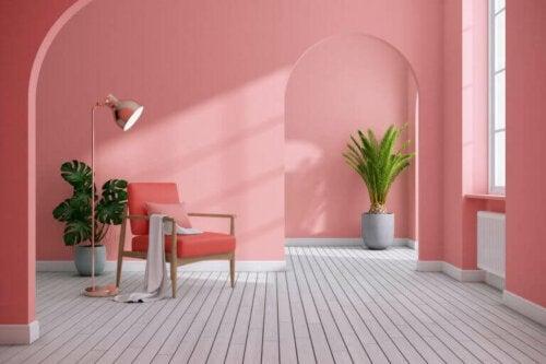 Ein rosafarbenes Dekor: Verwirf deine Vorurteile!