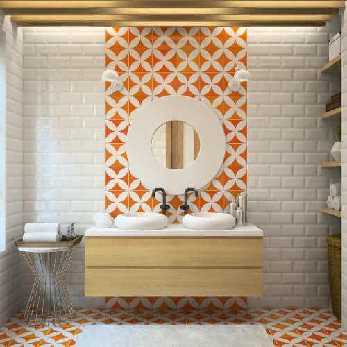 Badezimmer renovieren: Fliesen