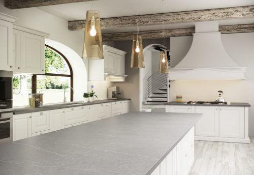 Immer mehr Küchen verwenden das graue Dekor