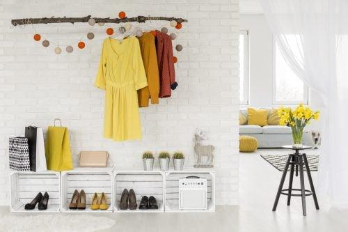 Schuhregale für den Hauseingang – Holzkisten als Schuhregale