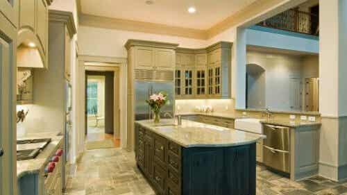 der küchenboden: welche bodenbeläge eignen sich für die
