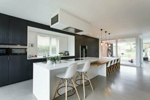 Eine Küchenboden ist eine willkommene Ergänzung in jeder Küche