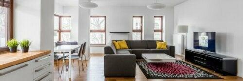 Das offene Wohnkonzept ist sehr beliebt