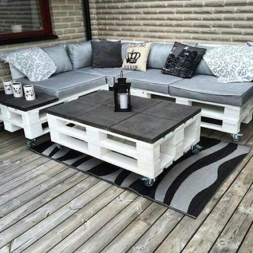 Palettenmöbel für deine Terrasse