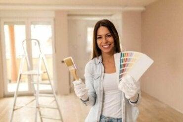 Dekorative Maltechniken: 8 Methoden, um deine Wände zu streichen