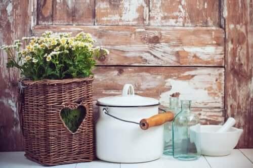 Korbwaren - eine weitere kostengünstige Option für dein Zuhause