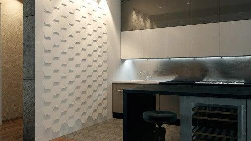 Relieffliesen Küche