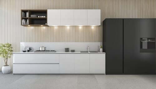 Küchenumbau - Zement