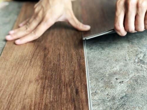 Küchenumbau - Vinylboden