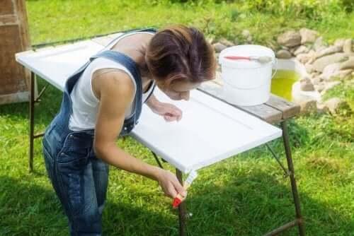 Gartenmöbel Abnutzung
