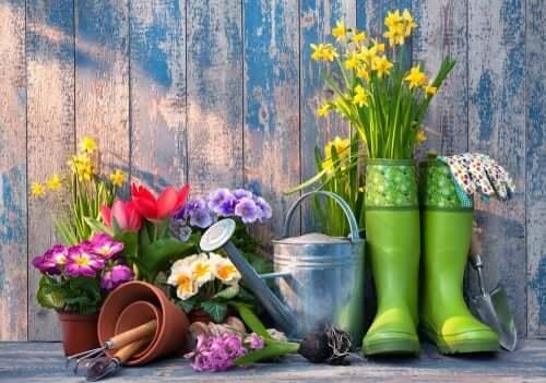 Saisonale Möbel für den Garten - für Hobbygärtner