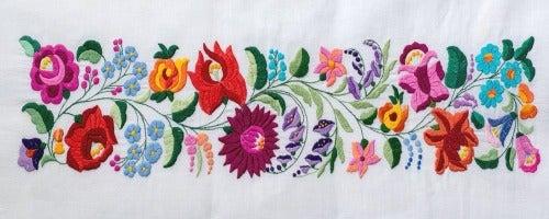 Handtücher besticken: Ganz einfach selber machen!