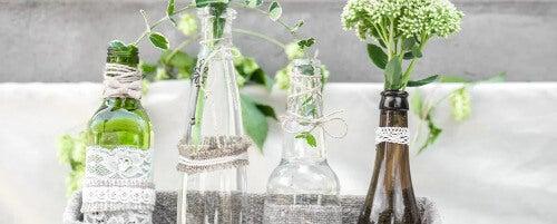 Weinflaschen: 4 Möglichkeiten der Wiederverwendung
