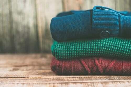 Kleiderschrank - Kleidung sortieren